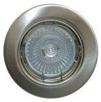 LANDLITE KIT-57A-3, 3db 50W GU10 230V halogén izzó, fix kivitel, beépíthető lámpa szett (3 db-os halogén szett), arany