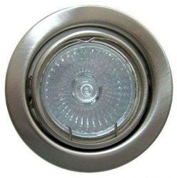 LANDLITE KIT-60A-3, 3db 50W GU10 230V halogén izzó, forgatható kivitel, beépíthető lámpa szett (3 db-os halogén szett),matt króm