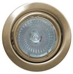 LANDLITE KIT-60A-3, 3db 50W GU10 230V halogén izzó, forgatható kivitel, beépíthető lámpa szett (3 db-os halogén szett), antik bronze