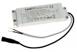 LANDLITE UIT-65 220-240V AC / 12 V AC (0,1-65W), Univerzális transzformátor LED és halogén lámpákhoz