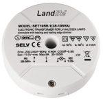 LANDLITE SET105R-1 Elektronikus transzformátor kisfeszültségű halogén lámpákhoz