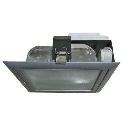 LANDLITE KL-C8006, 2x26W 230V G24q-3 fénycsöves mélysugárzó (ezüst)