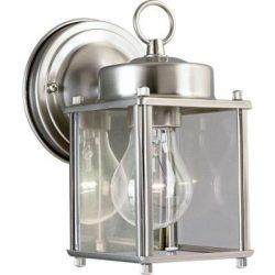 LANDLITE Kültéri Lámpa WL307-1, nikkel