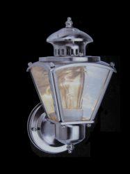 LANDLITE Kültéri Lámpa WL310-1, nikkel