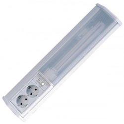 LANDLITE EBL3021-11W, 1xPL/G23-11W, kapcsolóval, 2x dugaljjal, fénycsöves fali lámpa