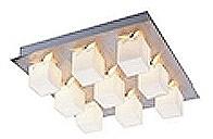 LANDLITE MW-5419/9C modern mennyezeti lámpa 9xG9 60W 230V