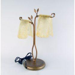 LANDLITE MW-5325/2T asztali lámpa, E27, max. 2x60W