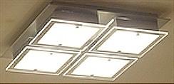LANDLITE SHARONA MW-5424/4C-S modern mennyezeti lámpa 4xG9 40W 230V