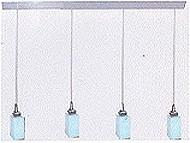 LANDLITE MW-5418/4PB-S modern függesztett lámpa 4xG9 60W 230V