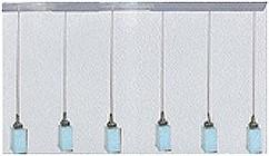LANDLITE MW-5418/6PB-S modern függesztett lámpa 6xG9 60W 230V