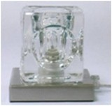 LANDLITE MW-5384/1T-B modern asztali lámpa 1xG9 40W 230V