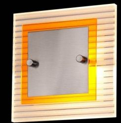 LANDLITE PROLIX W6025/1L, 1XG9 60W 230V, fali lámpa