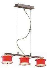 LANDLITE REFORMO P6026/3L piros, 3XG9 60W 230V, függeszték