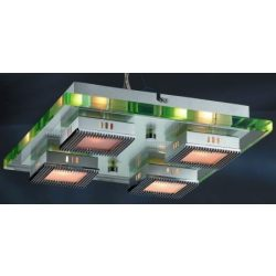 LANDLITE TRAVIS C6005/4L, 4X60W G9, mennyezeti lámpa