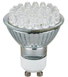 LANDLITE LED-GU10/36 2W 230V melegfehér, LED izzó