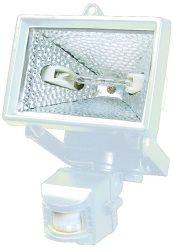 LANDLITE SL-500, 1X500W 118mm R7s halogén fényvető / reflektor, mozgásérzékelővel, fehér