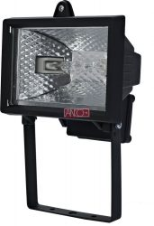 ANCO Halogén reflektor 120W, fekete
