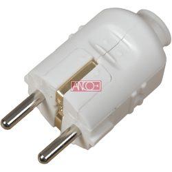 ANCO Földelt PVC dugó középső bevezetéssel
