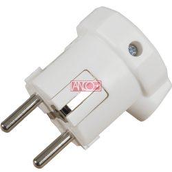ANCO Földelt PVC dugó oldalsó bevezetéssel