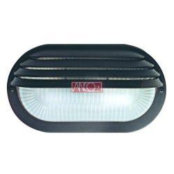 ANCO Félig fedett lámpatest, fekete