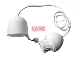 ANCO Lámpafüggeszték E27, 70cm, fehér