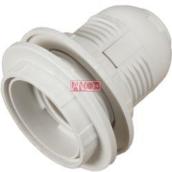 ANCO Foglalat 2 gyűrűvel E27, fehér