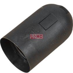 ANCO Foglalat E27, fekete
