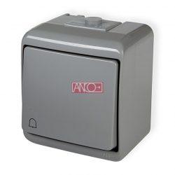 ANCO Junior nyomókapcsoló csengő jellel, IP44