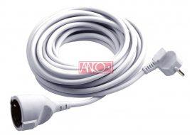 ANCO Lengő hosszabbitó, fehér, 5m