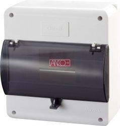 ANCO Falonkivüli biztosítéktábla, 8 modul