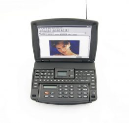 LANDLITE H-810 számítógép alakú rádiós számológép