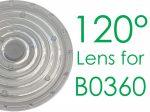T6470/A0, 120° Lens for B0360 LED High Bay Light