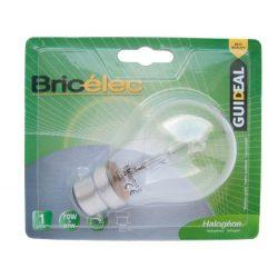 LANDLITE Bricélec Halogén, B22, 70W, A55, 1251lm, 2900K, bajonett záras fényforrás (HSL-A55-70W)