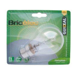LANDLITE Bricélec Halogén, B22, 40W, A55, 599lm, 2900K, bajonett záras fényforrás (HSL-A55-40W)