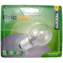 LANDLITE Bricélec Halogén, E27, 28W, G45, 370lm, 2900K, kisgömb formájú fényforrás (HSL-G45-28W)