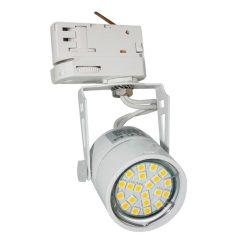 DF-4111, Max 50W, adapterrel,  fehér,  1VE=24, 3-fázisú Sínrendszer lámpa