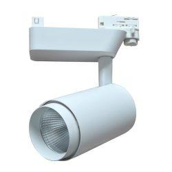 DF-3113, 50W, 3000K, adapterrel, fehér, LED 3 fázisú Sínrendszer lámpa