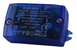 SLT6-350IL (DF-350IL), Állandó feszültség és állandó áram LED tápegység, 6W, 350mA/24V