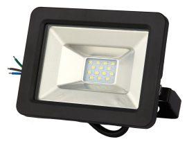 LANDLITE DF-51001C-10, 10W LED Reflektor / LED Fényvető, 3200K meleg fehér, fekete
