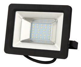 LANDLITE DF-51001C-20, 20W LED Reflektor / LED Fényvető, 3200K meleg fehér, fekete