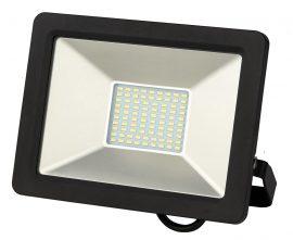 LANDLITE DF-51001C-50, 50W LED Reflektor / LED Fényvető, 3200K meleg fehér, fekete