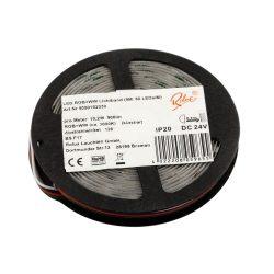 LANDLITE Rolux LED szalag, 19.2W/m, 900lm/m, RGB + 3000K, 60LED/m, 24V, IP20 (5m / tekercs)
