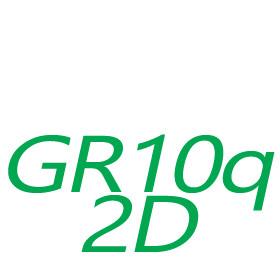 GR10q / 2D-s foglalatú fénycsövek