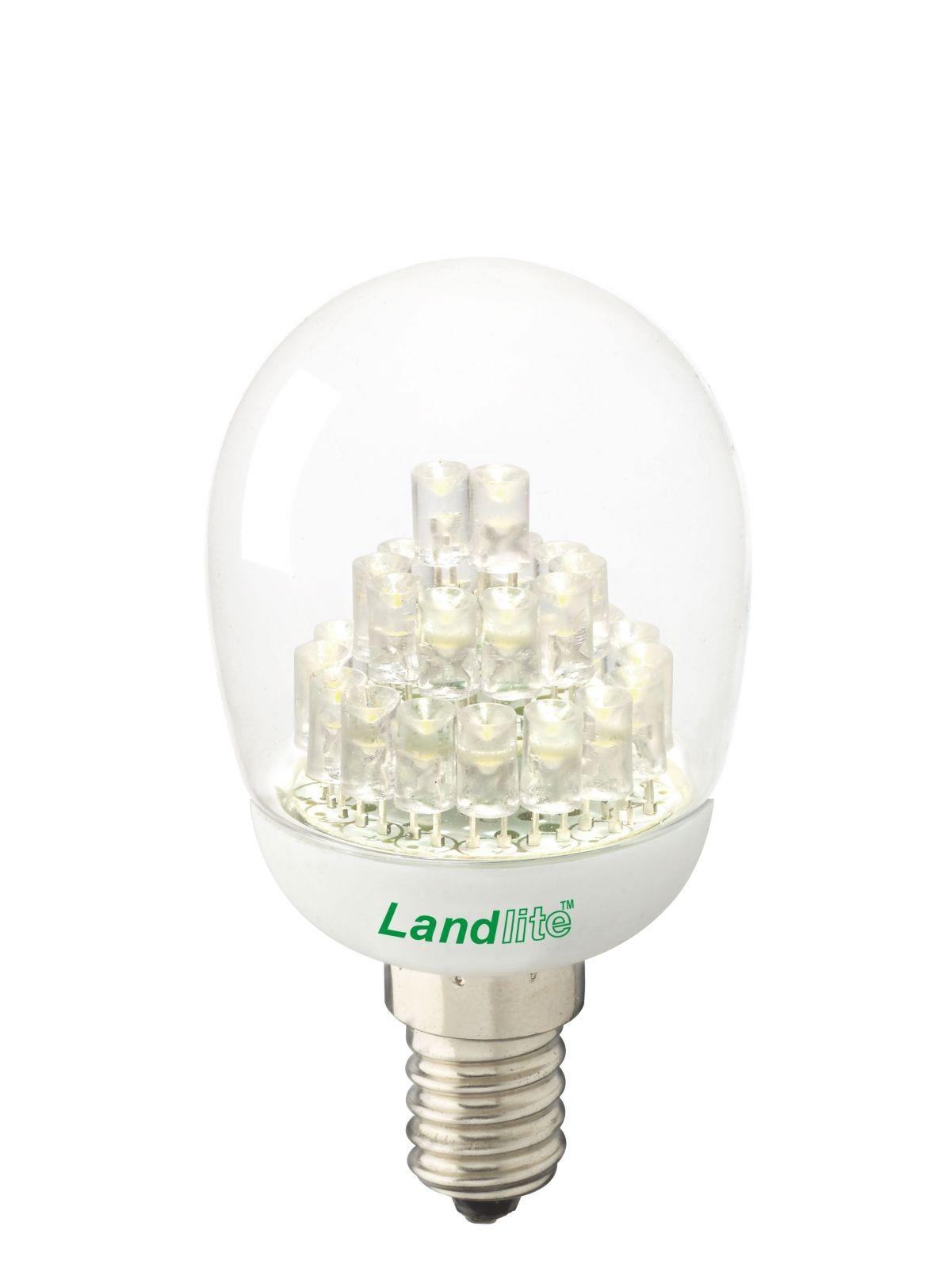 LANDLITE LED-G45-2W E14 230V melegfehér, LED izzó