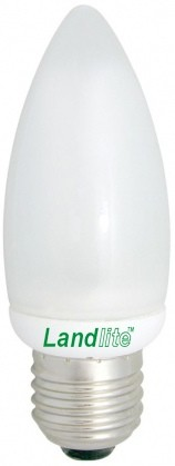 EIC/M-7W E27 230V 2700K 8000 hour, candle form, CFL (energy saving lamp)