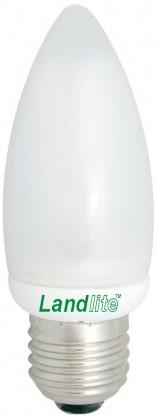 EIC/M-7W E27 230V 2700K 8000óra, gyertya forma, kompakt fénycső (energiatakarékos izzó)