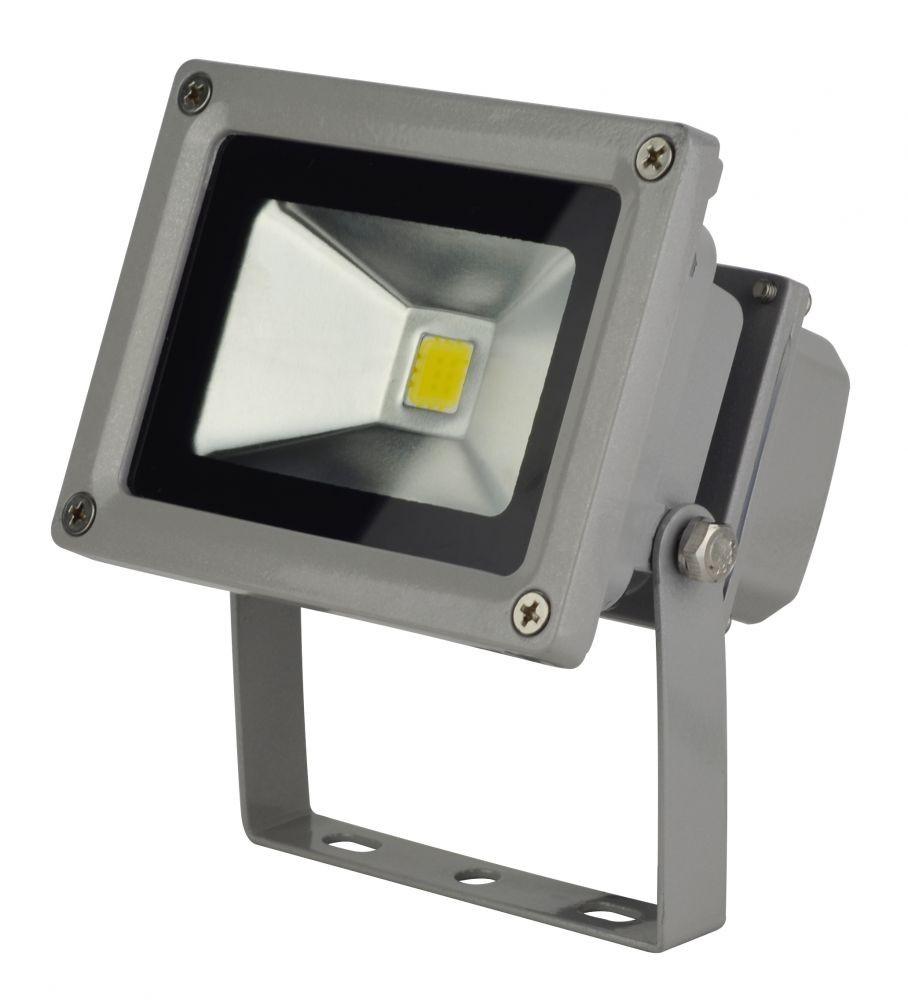 LANDLITE LED-FL-10W fényvető / reflektor, 4000K, szürke