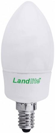 LANDLITE D-EIC-E14-9W E14 230V 2700K 10000óra, gyertya forma (SZABÁLYOZHATÓ energiatakarékos izzó)