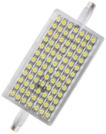L118-5W R7s 220-240V 118mm melegfehér, szabályozható, LED izzó