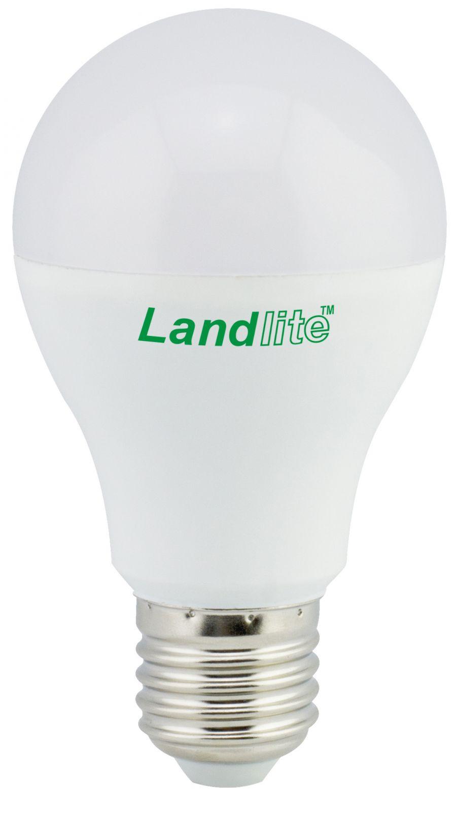 LANDLITE LED-A60-6W/SXW E27,  melegfehér LED izzó